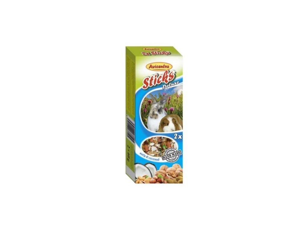 Avicentra tycinky s orechy a kokosem pro velke hlodavce 2 ks