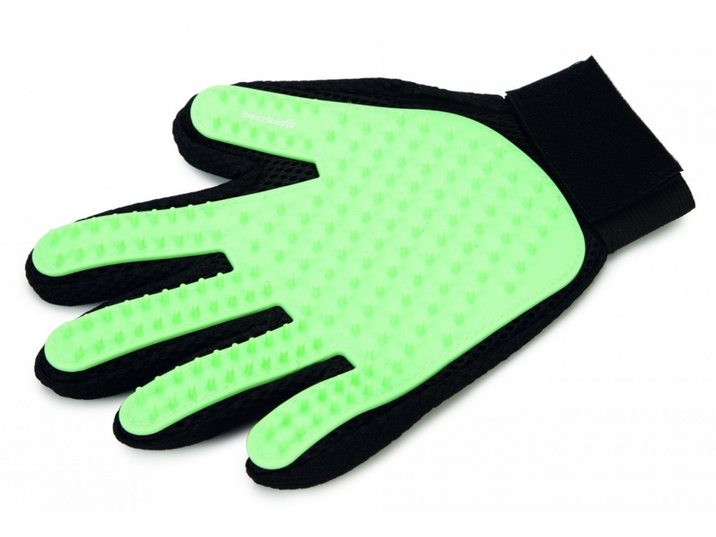 Beeztees vycesavaci rukavice