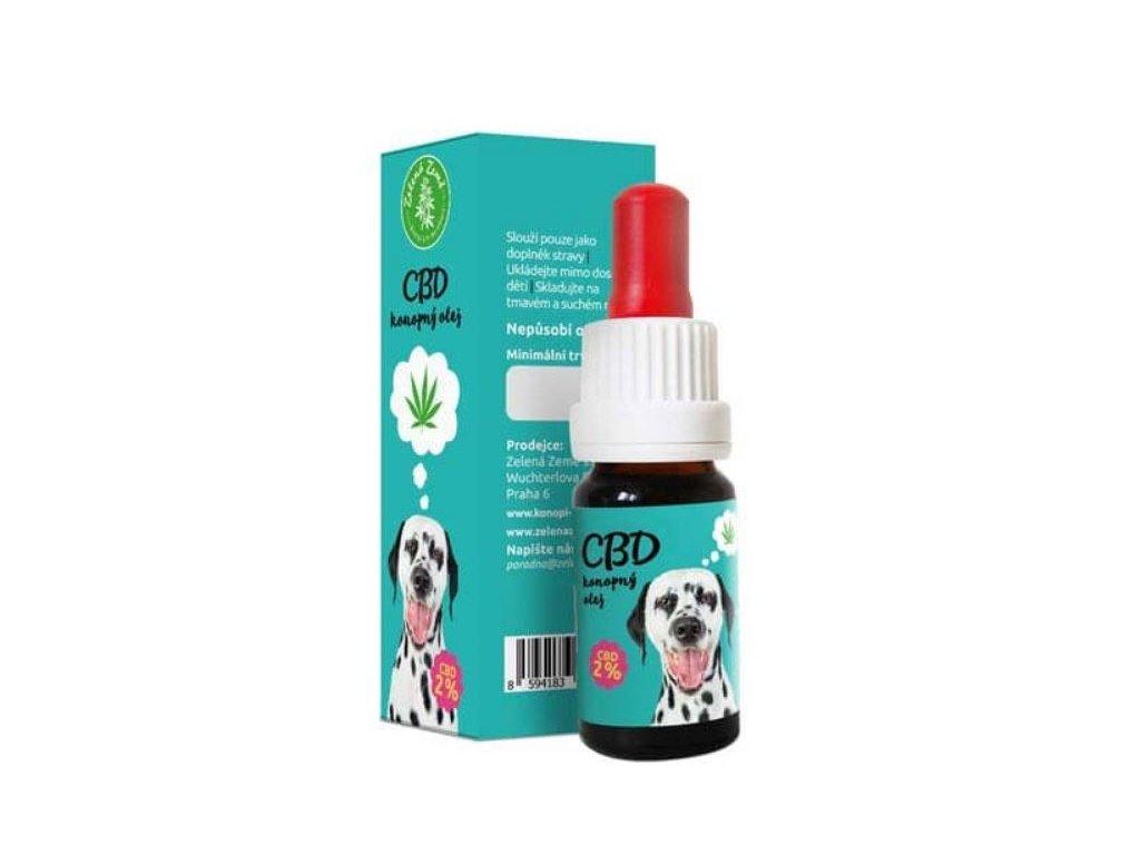 CBD olej pro zvířata 2%, 10 ml 1