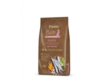Fitmin dog Purity GF Puppy Fish
