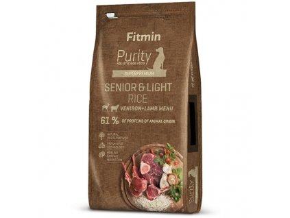 Fitmin dog Purity Rice Senior&Light Venison&Lamb