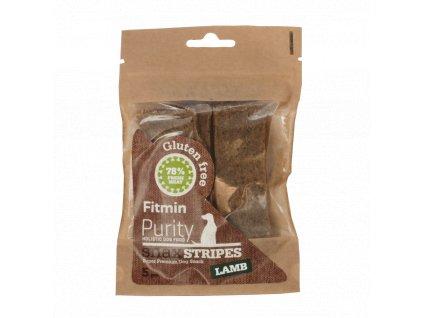 Fitmin dog Purity Snax STRIPES lamb 5ks