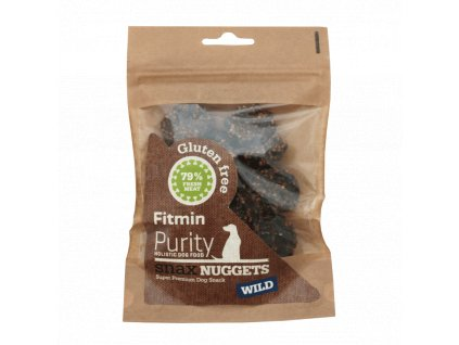 Fitmin dog Purity Snax NUGGETS wild 64g