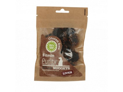Fitmin dog Purity Snax NUGGETS liver 64g