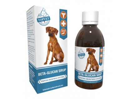 Beta glucan sirup pro psy 200ml