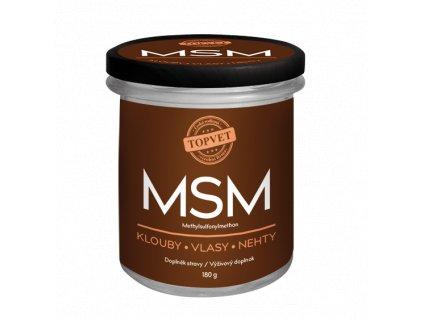 4400 topvet msm methylsulfonylmethan 180 g