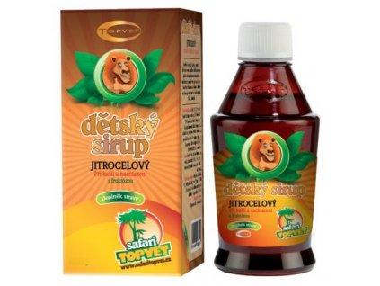 4880 topvet jitrocelovy detsky sirup s fruktozou 300 g