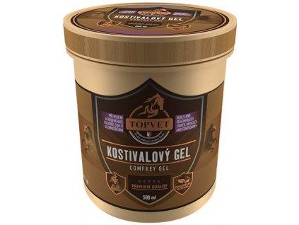 Topvet kostivalový masážní gel 500 ml