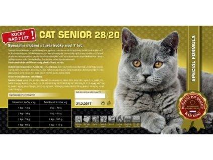 Bardog Cat senior granule pro kočky starší 7 let