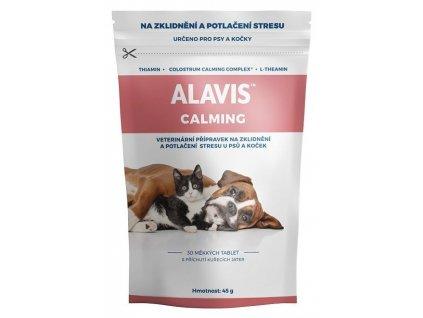 ALAVIS Calming přípravek na zklidnění pro psy a kočky
