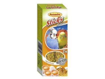 Avicentra tycinky andulka vejce med 2ks