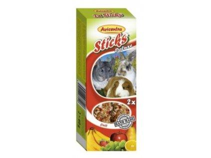 Avicentra tycinky s ovocem pro velke hlodavce 2 ks