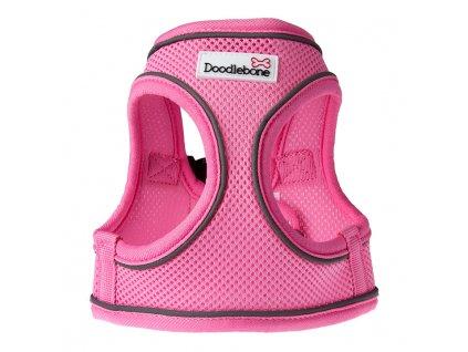 postroj doodlebone snappy pink růžový