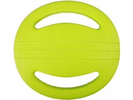 frisbee s uchyty zelene 22cm