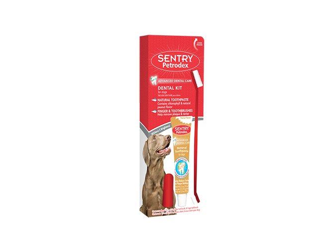 petrodex prirodni dentalni souprava pro psy