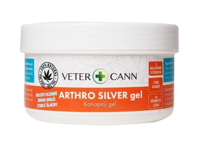 ARTHRO silver konopný gel