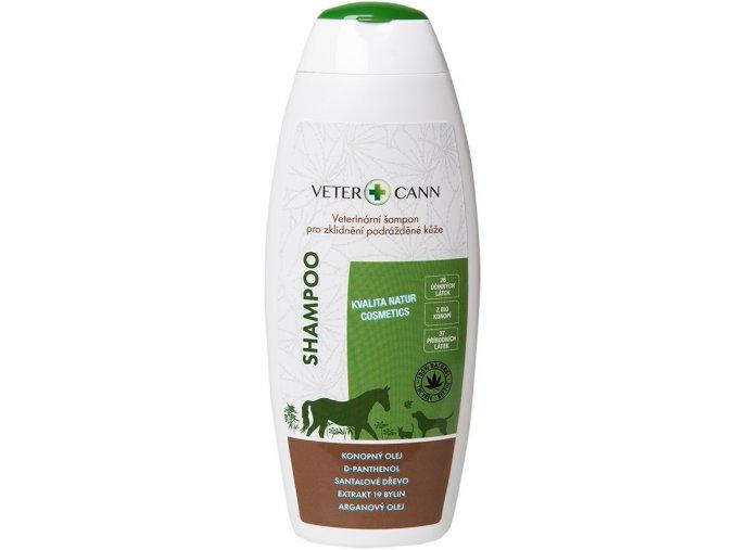 vetercann konopný šampon2