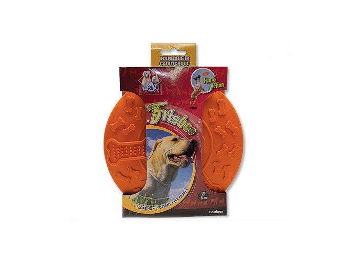 disk letajici frisbee psi oranzovy