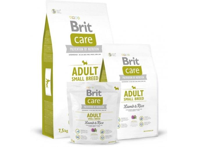 brit care adult small bree jehně, rýže (2)
