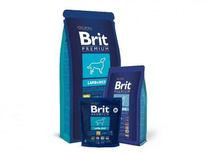 brit premium lamb and rise