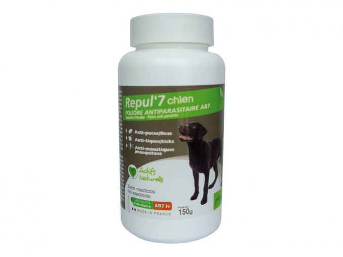 Repul 7 Repelentní pudr pro psy 150g