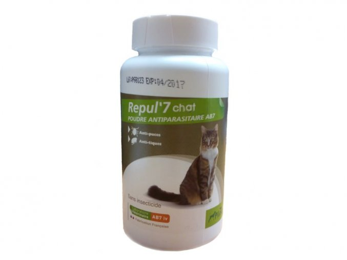 Repul 7 Repelentní pudr pro kočky 150g