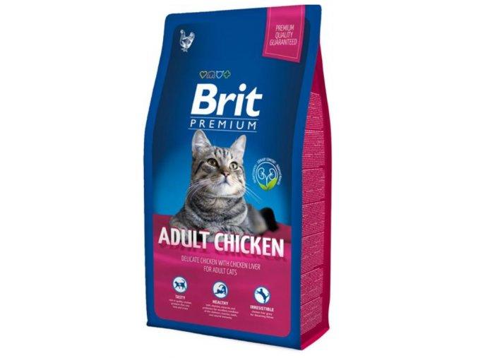 Brit Premium Cat Adult Chicken 8 kg