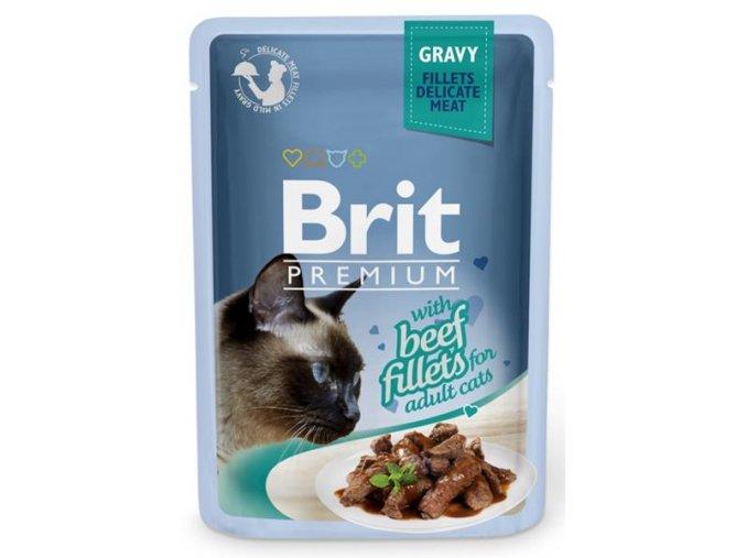 brit kapsička beef