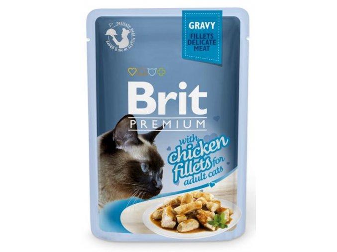 brit kapsička kuřecí filety