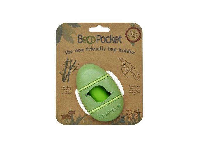 Pouzdro na sacky BecoPocket EKO green 2805201823380958630