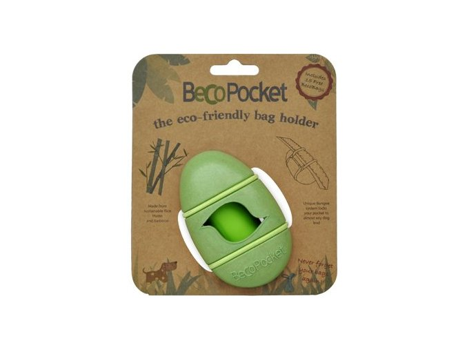 Pouzdro na sacky BecoPocket EKO green 2805201823380958630