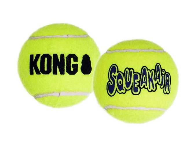 kong air dog squeaker tennis