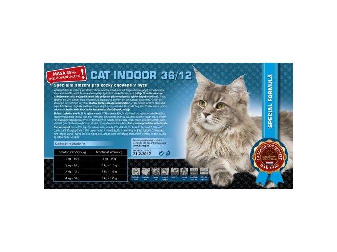Bardog krmivo pro kočky chované v bytě
