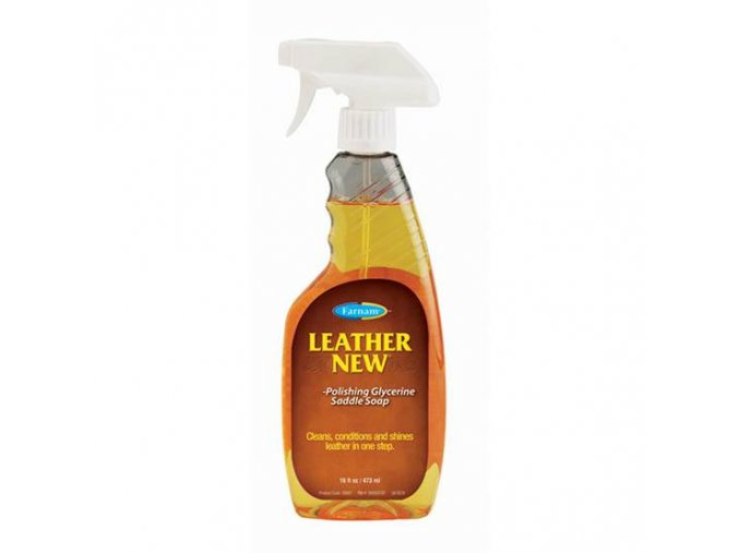Leather New Glycerine Saddle Soap 473 ml