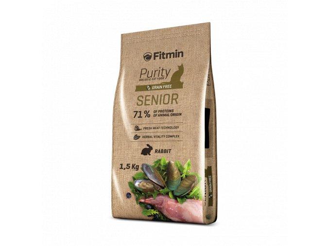Fitmin cat Purity Senior 1,5kg