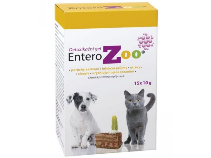 4466 entero zoo detoxikacni gel 15x10g