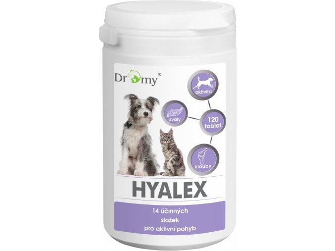 Dromy Hyalex doplněk pro zdravé klouby psů a koček