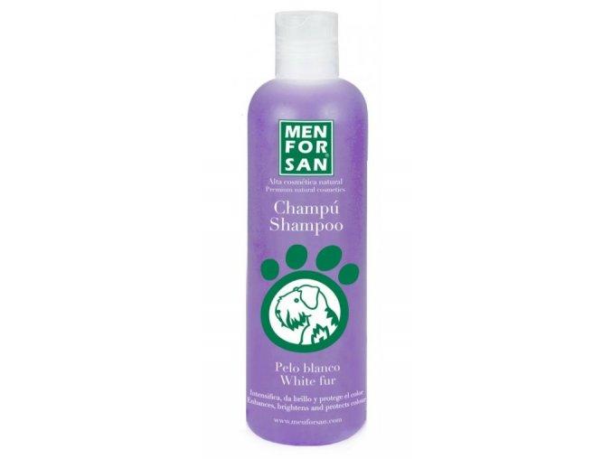 Menforsan šampon pro psy pro zesvětlení bílé srsti 300 ml