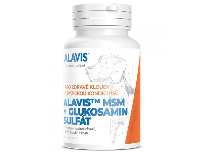 ALAVIS MSM Glukosamin sulfat 60tbl