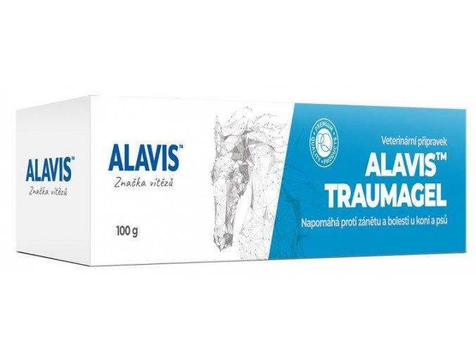 ALAVIS Traumagel proti zánětu a bolesti u koní a psů