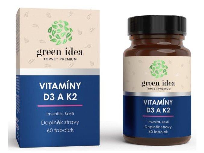 Topvet vitaminy d3 a k2 tobolky