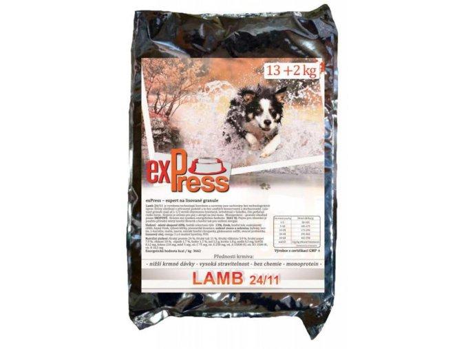 express lisovane granule pro psy 15 kg