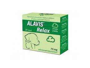 ALAVIS Relax 75mg pro psy a kočky 40 kapslí