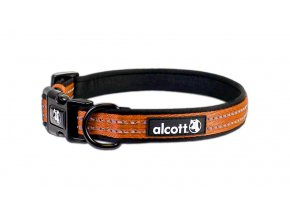 accessories essential visibility adventure collar neon orange 2