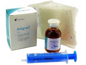 Anigran gel 22g  + sterilizovaná Chirana 10ml a gáza