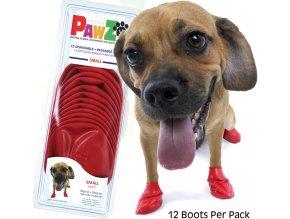 ochranné botičky pro malé psy