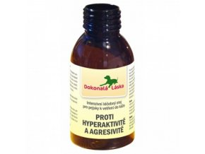 proti hyperaktivite a agresivite 100 ml olej k vetreni do kuze 3