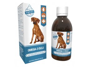 Omega 3 olej pro psy 200ml