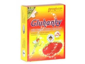 4844 topvet glukanky detske pastilky s prichuti jahody 30 ks