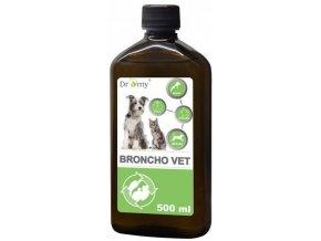 Dromy Broncho vet 500 ml pro psy a kočky k zmírnění respiračních onemocnění
